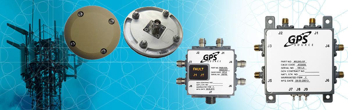 anteny i rozdzielacze sygnałów GNSS